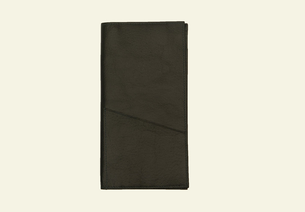 The London Slim Travel Wallet, Black leather wallets online