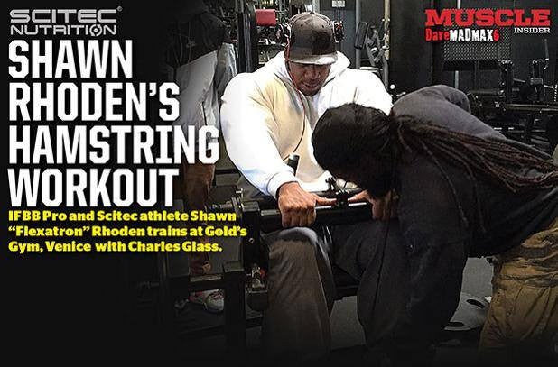 Shawn Rhoden trains hams at The Mecca