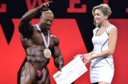 Shawn Rhoden places 3rd at Mr. Olympia