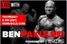 Rx Muscle interview with Ben Pakulski