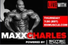 Rx Muscle interview with Maxx Charles