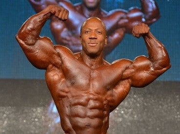 Shawn Rhoden wins 2nd place at Mr. Olympia Europe