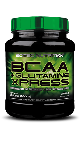 BCAA + Glutamine Xpress - 10 grams of BCAA and Glutamine in 1:1 ratio with added Taurine