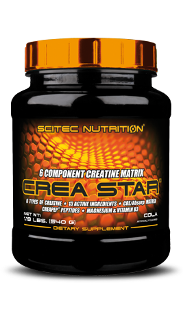 Crea Star - 6 Component Creatine Matrix