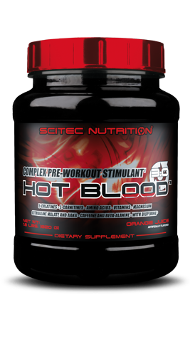 Scitec Nutrition Hot Blood 3.0 - Complex Pre-Workout Stimulant