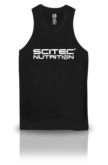 Compression Fit Black Tank Top Scitec