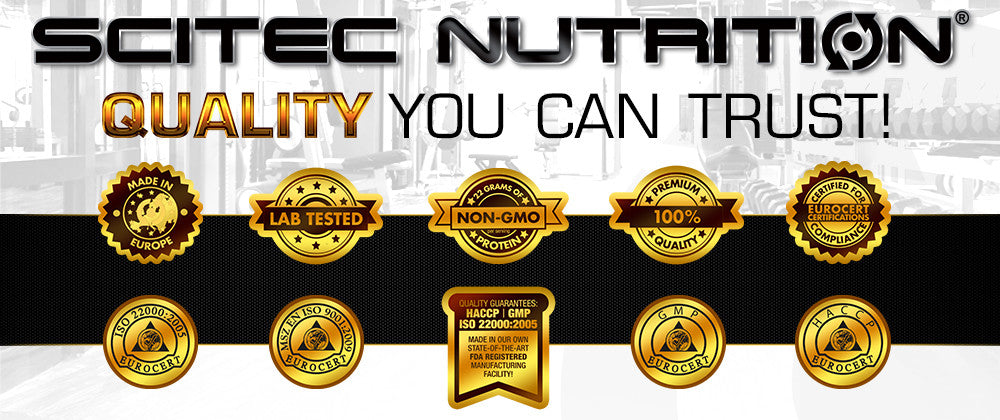 Scitec Nutrition is quality guaranteed