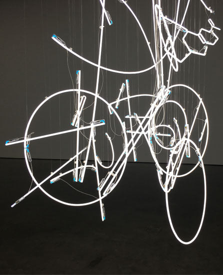Cerith Wyn Evans at White Cube detail
