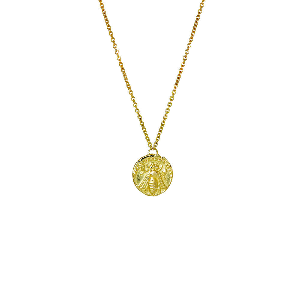 Melissae Gold Bee Necklace