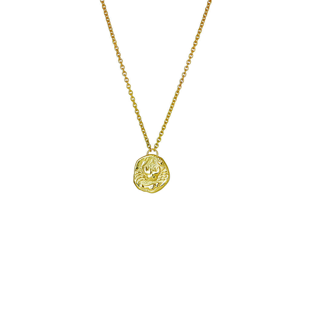 Karkinos Gold Crab Necklace