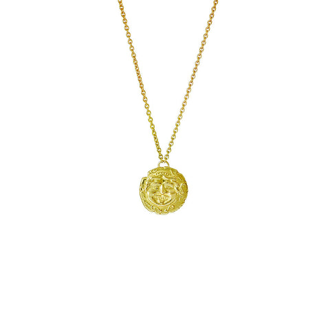 Medusa Gold Necklace