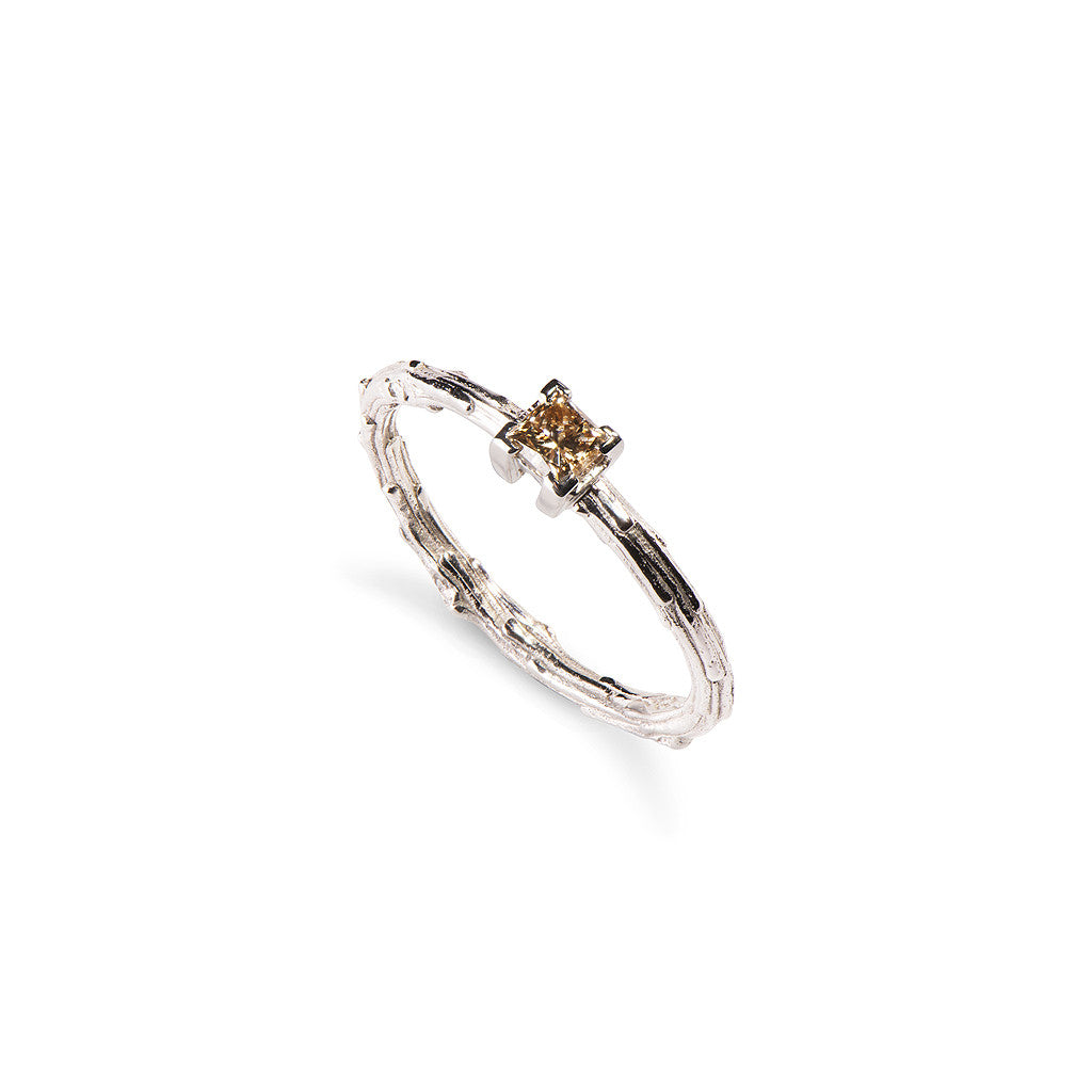 Hermia Brown Diamond Engagement Ring