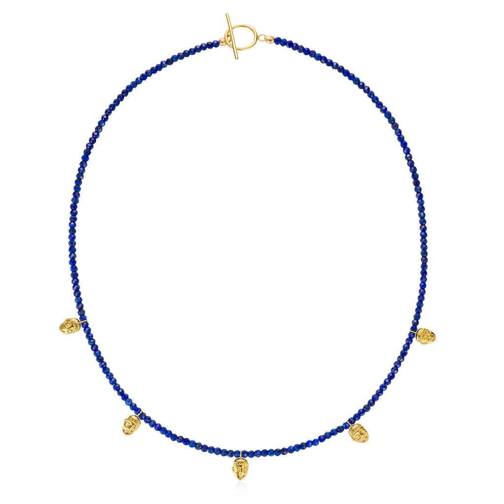 Lapis Youth Necklace