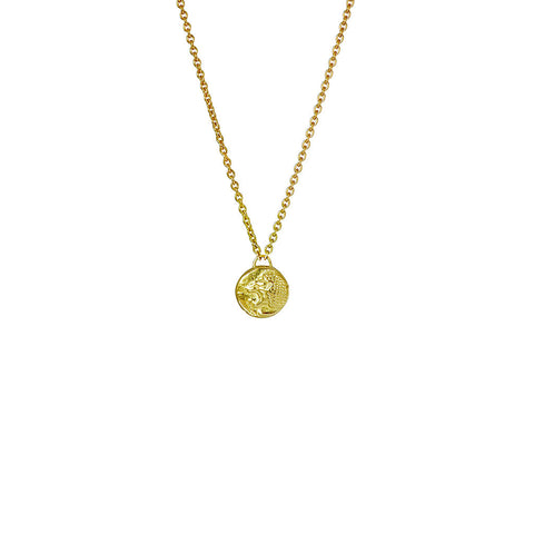 Nemean Lion Gold Necklace