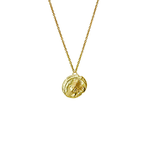 Parthian Coin Gold Necklace