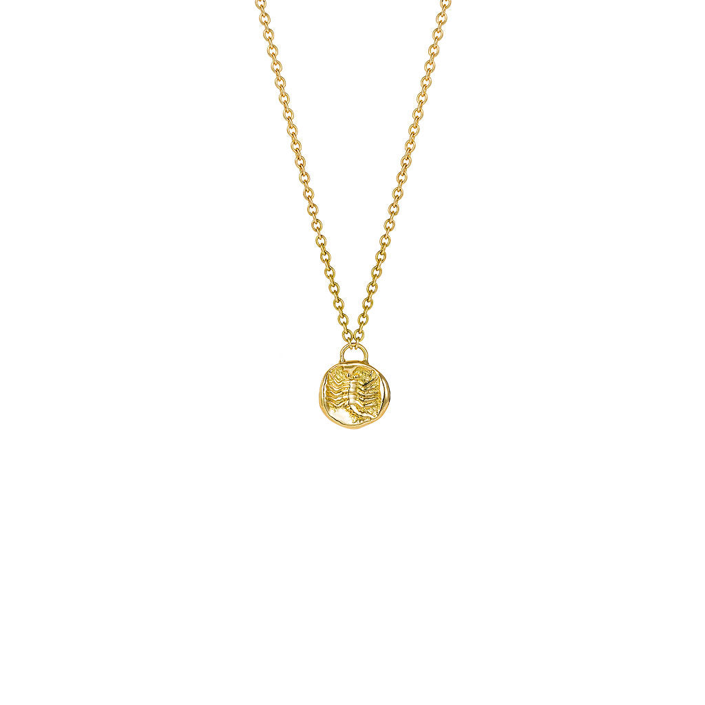 Scorpion Gold Necklace