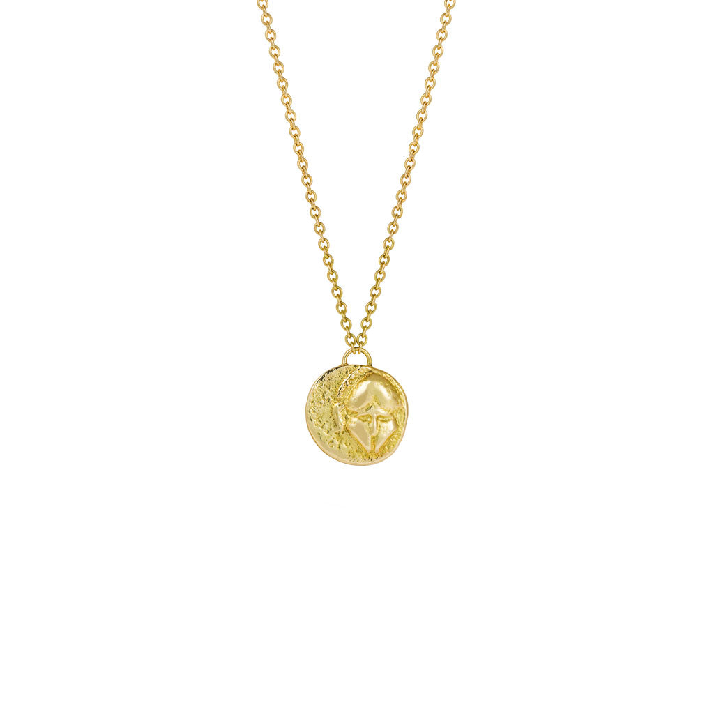 Warrior Gold Necklace