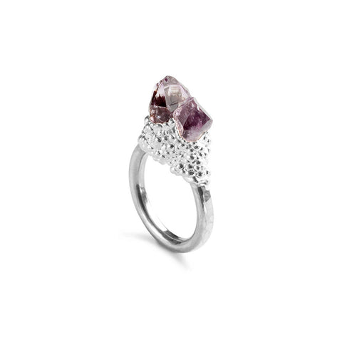 Amethyst Crystal Ring