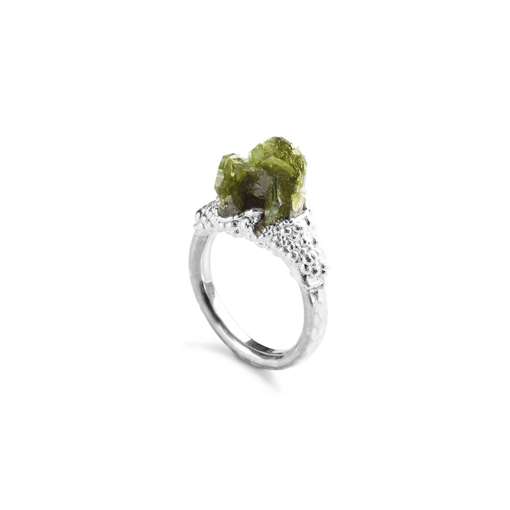 Uvite Crystal Ring