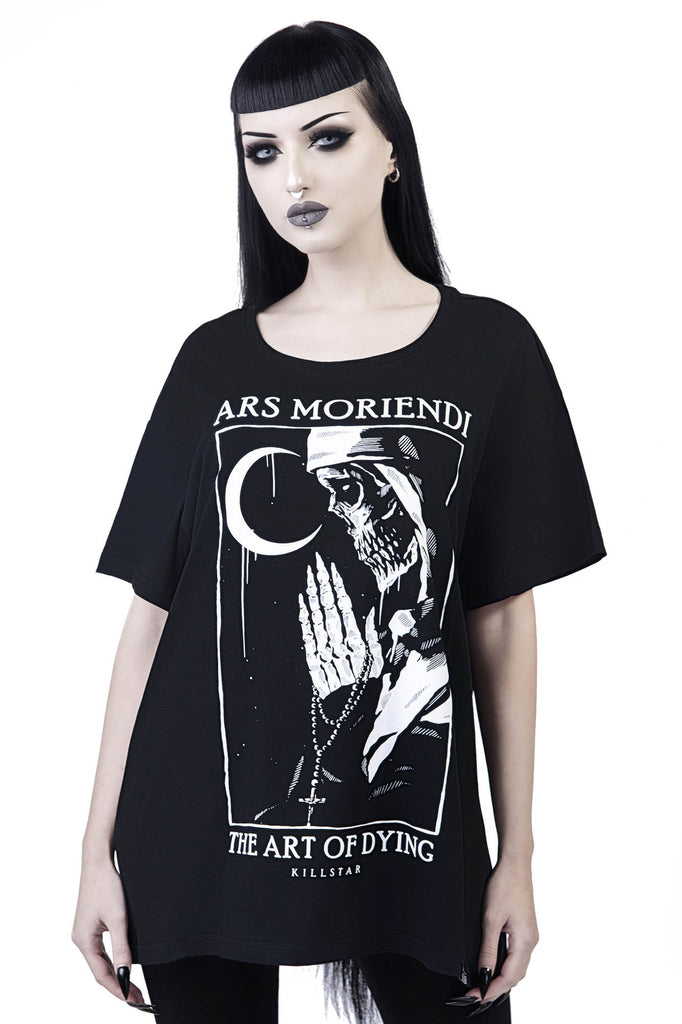Ars Moriendi Relaxed Top