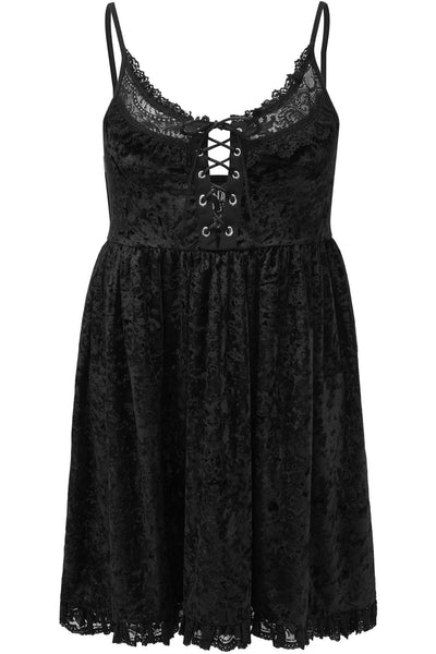 Ashbury's Angel Velvet Dress [PLUS]
