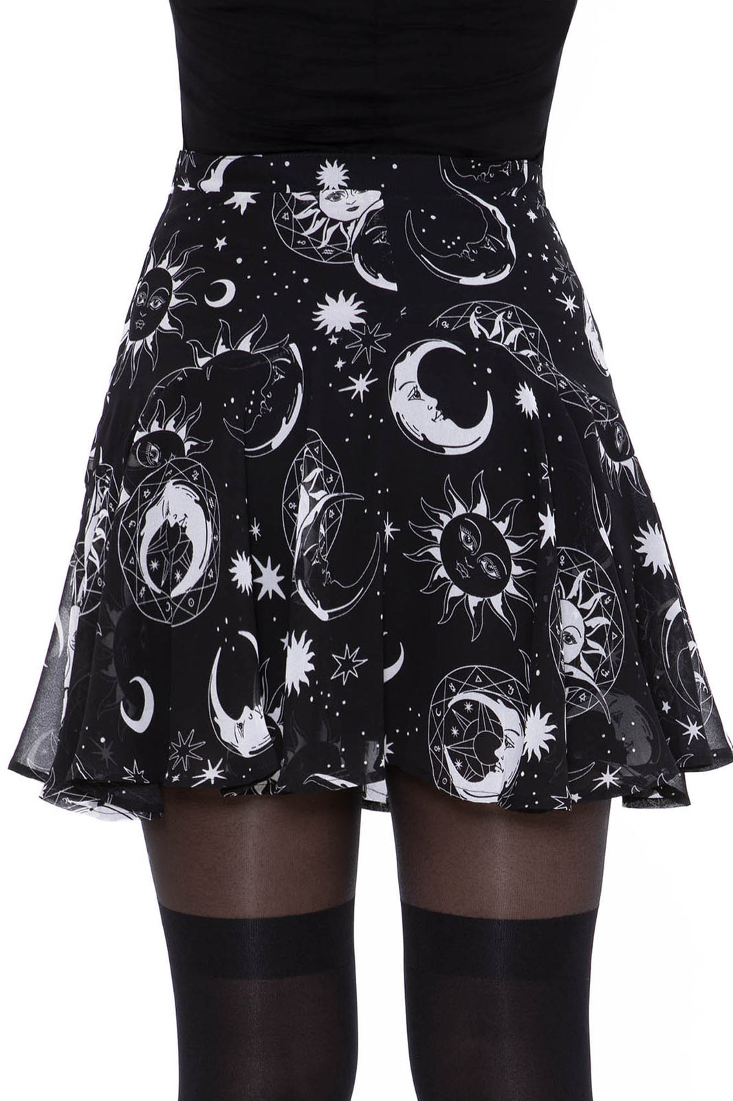 Astral Light Skater Skirt