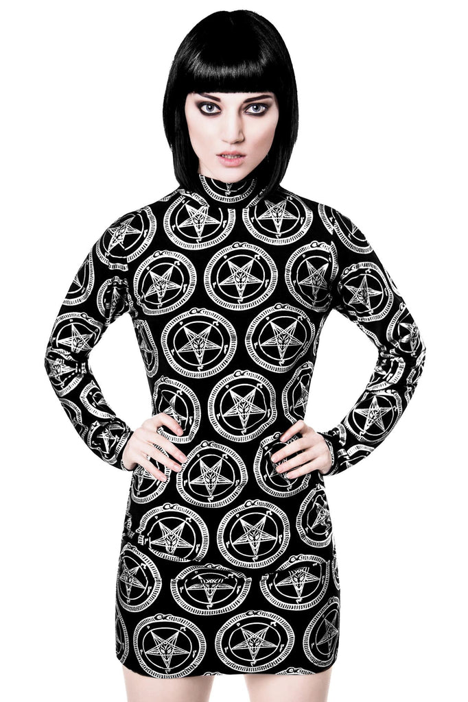 Baphomet L/S Weekend Dress [B]
