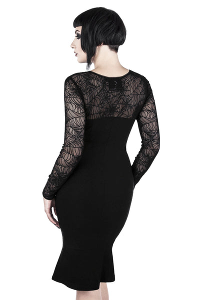 Bat To The Bone Bodycon Dress [B]