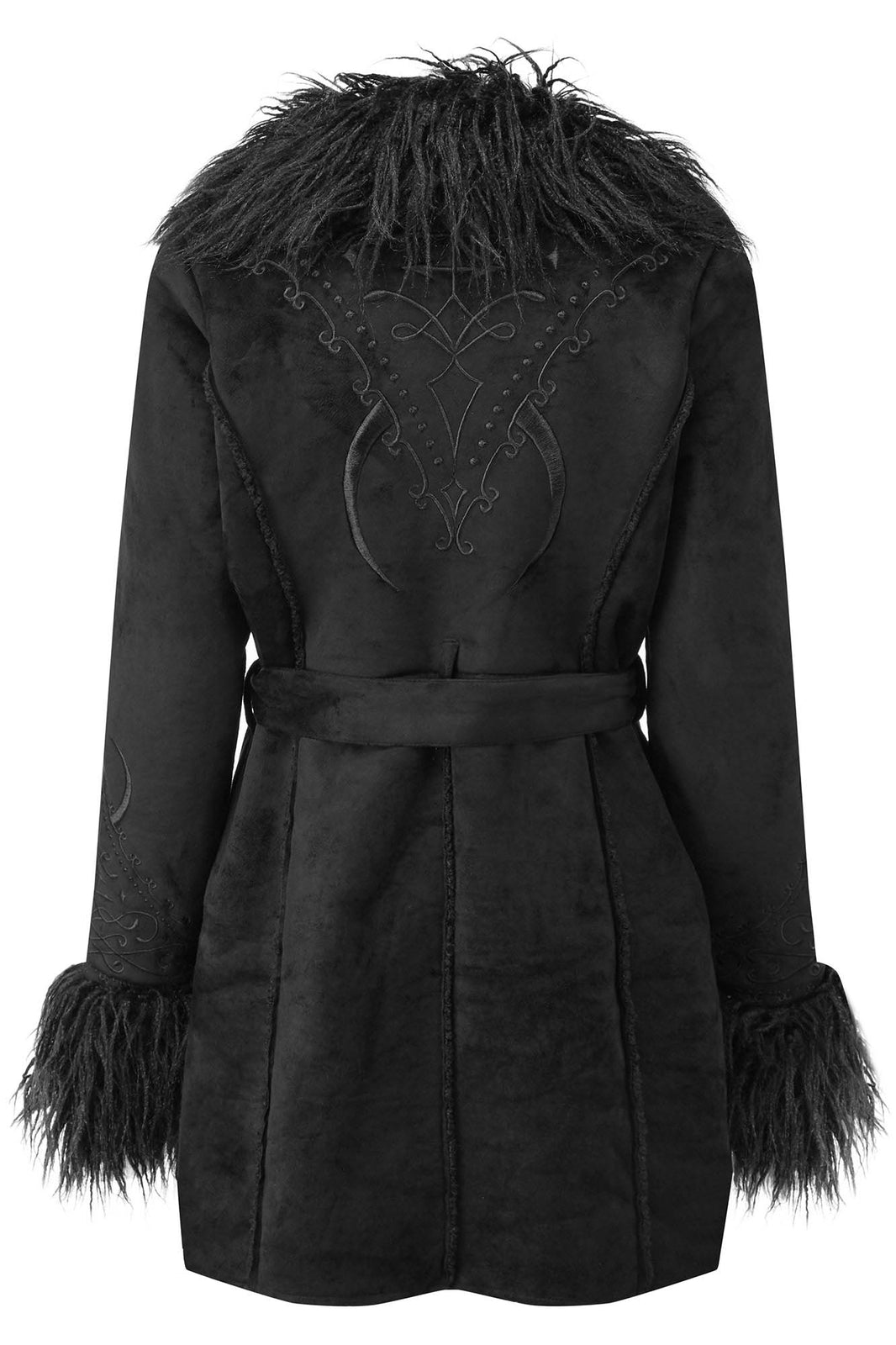 Belladonna Shearling Coat