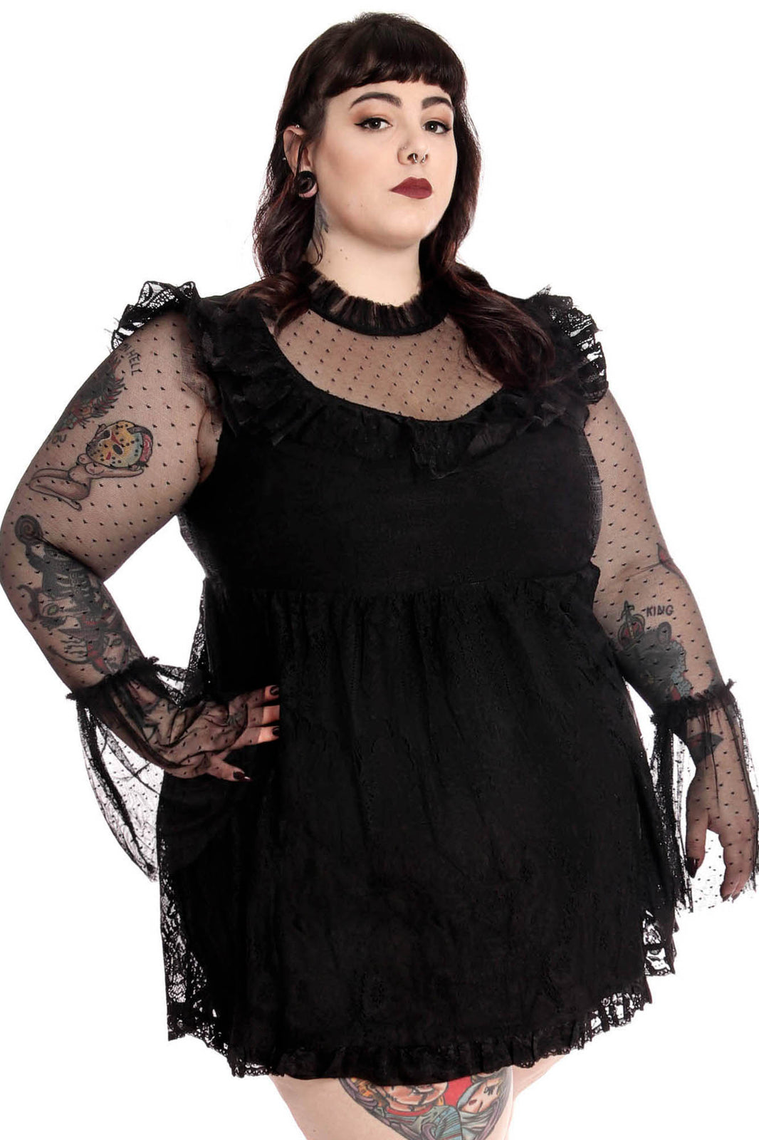 Bewitched Lace Dress [PLUS]