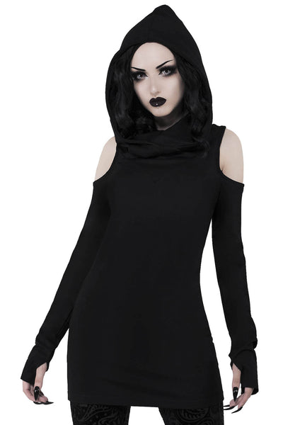 Bibliomancy Hooded Top [B]