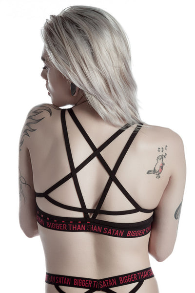 Bigger Than Satan Bralet [B]