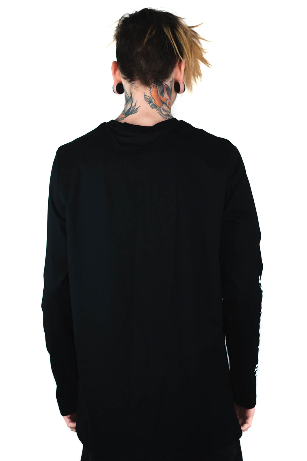 Black Cats Long Sleeve Top