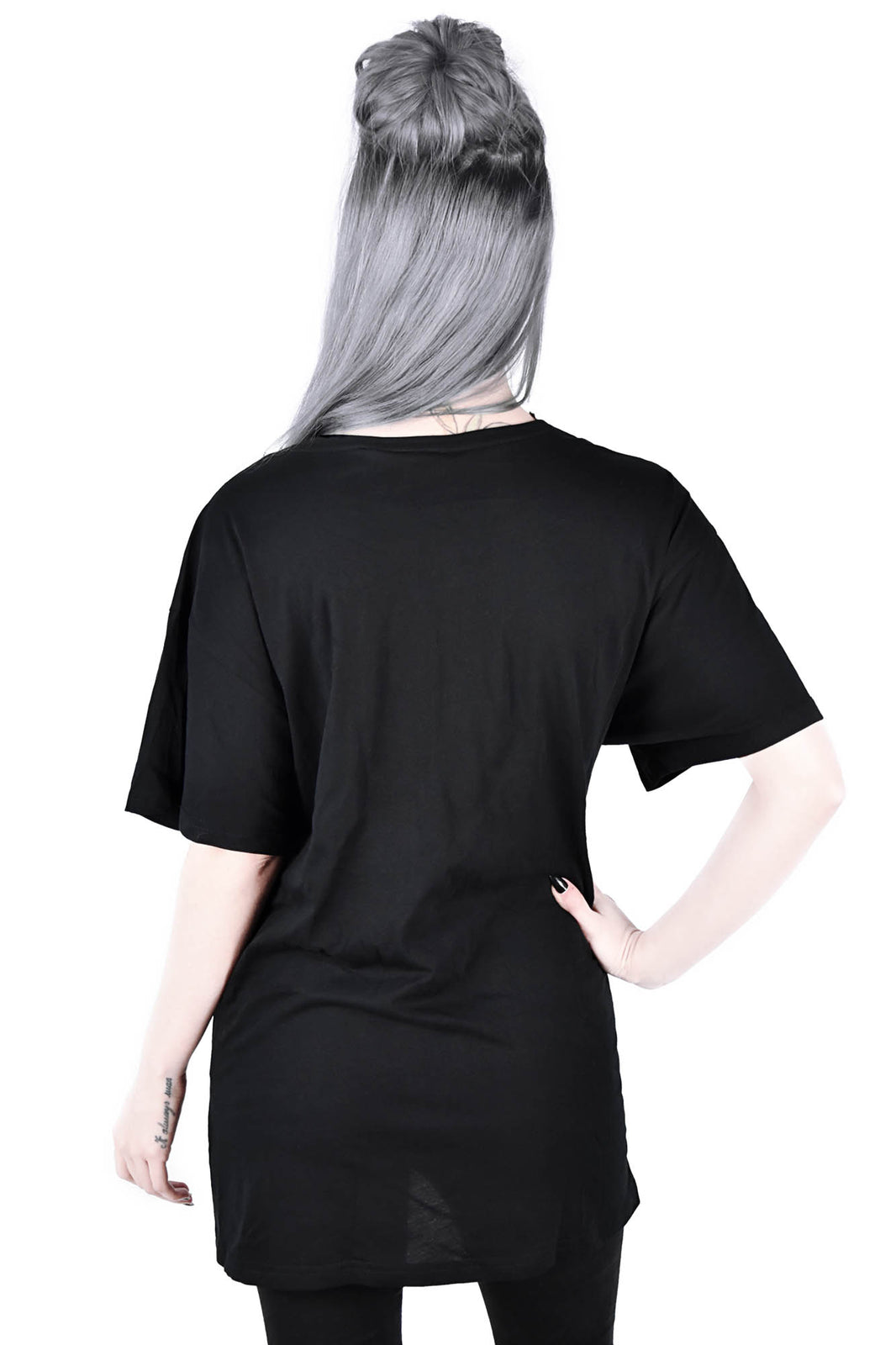 Black Cats Relaxed Top