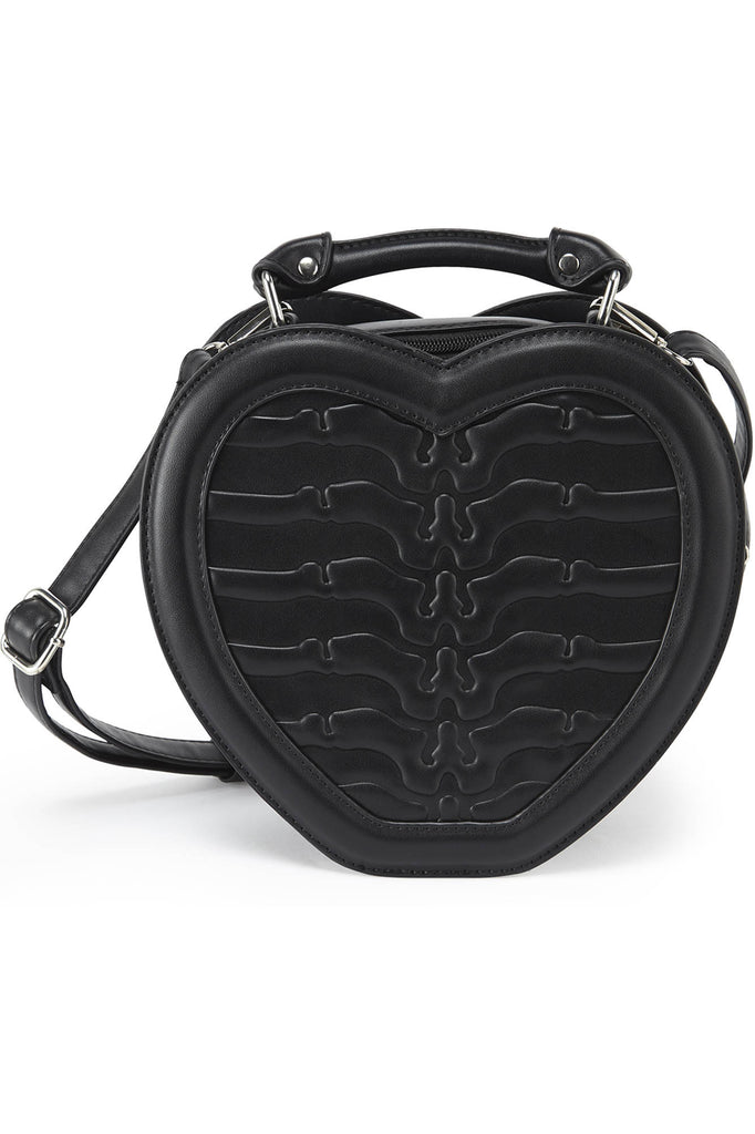 Black Heartz Handbag [B]