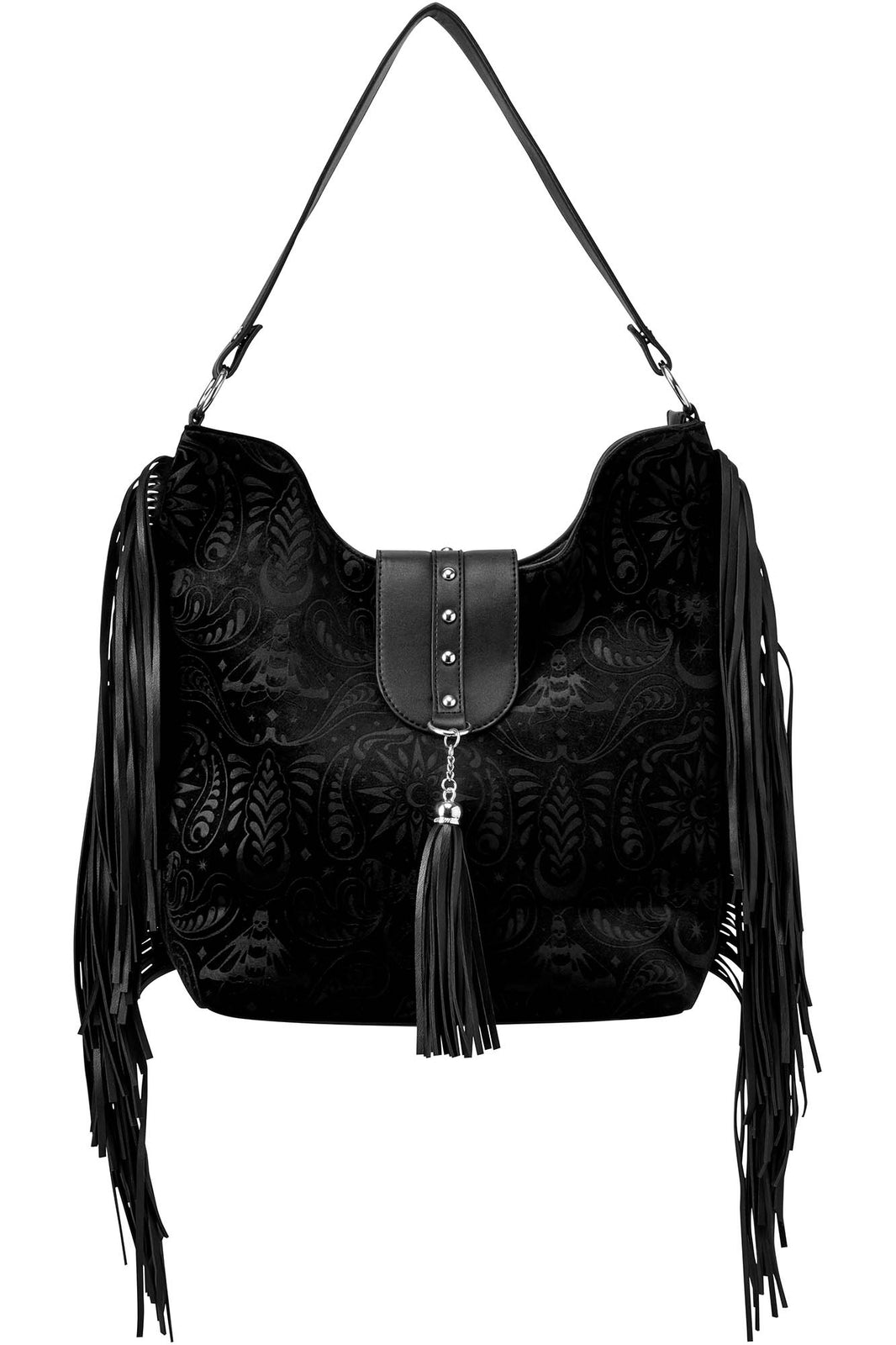 Blackwood Velvet Handbag