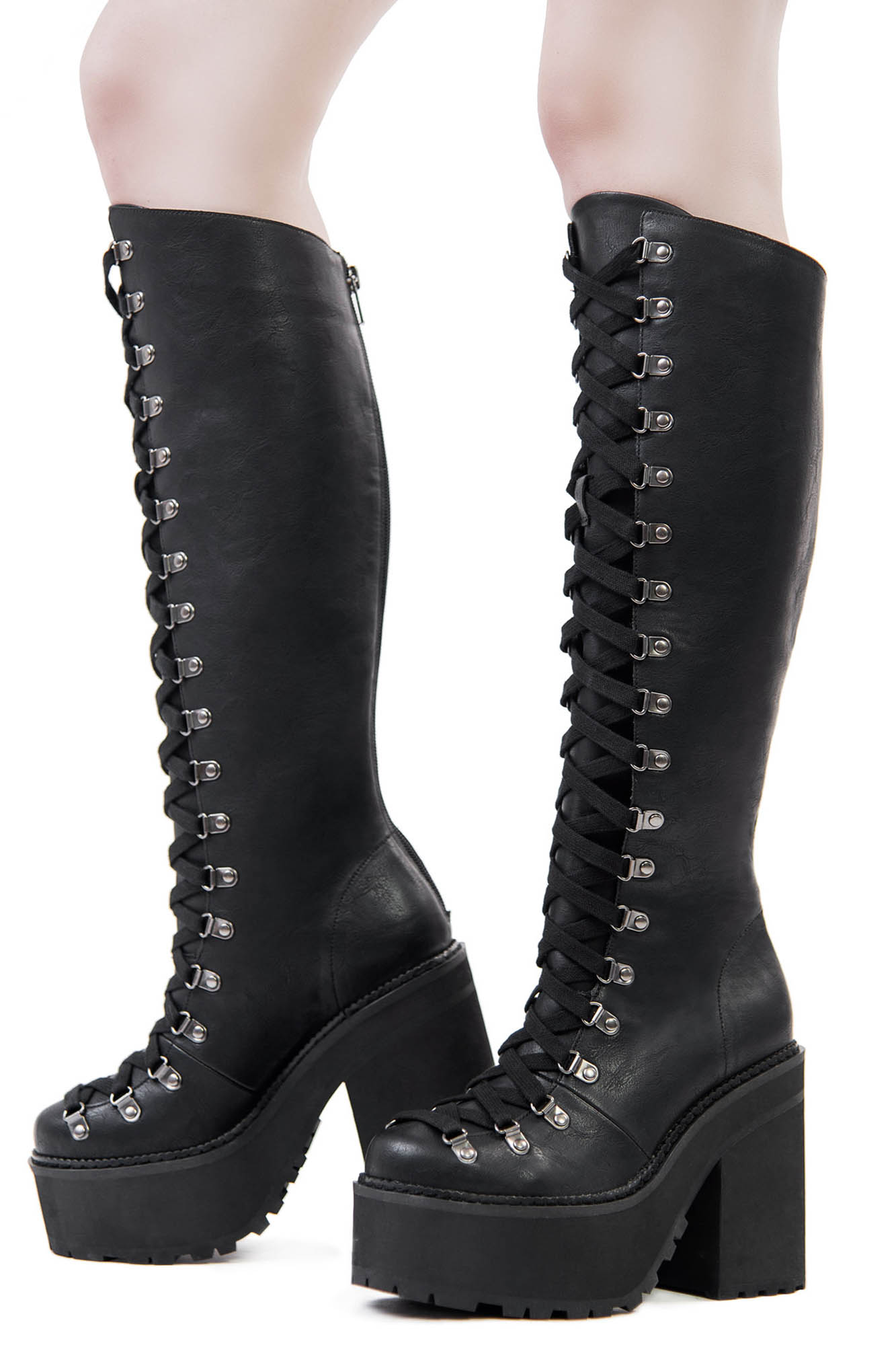 various colors 83367 92045 KILLSTAR Bloodletting Knee-High Boots