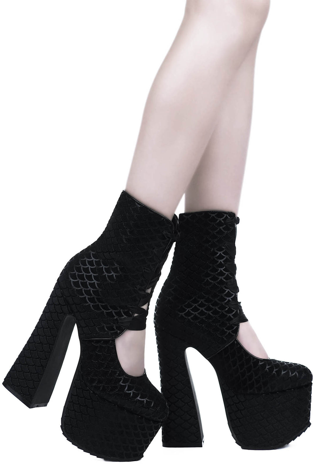 Buried At Sea Platform Boots [B]