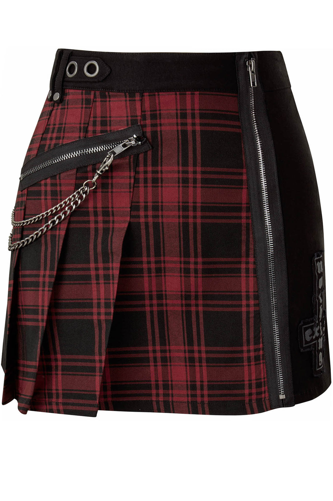 Calling Alice Mini Skirt [TARTAN] [PLUS]