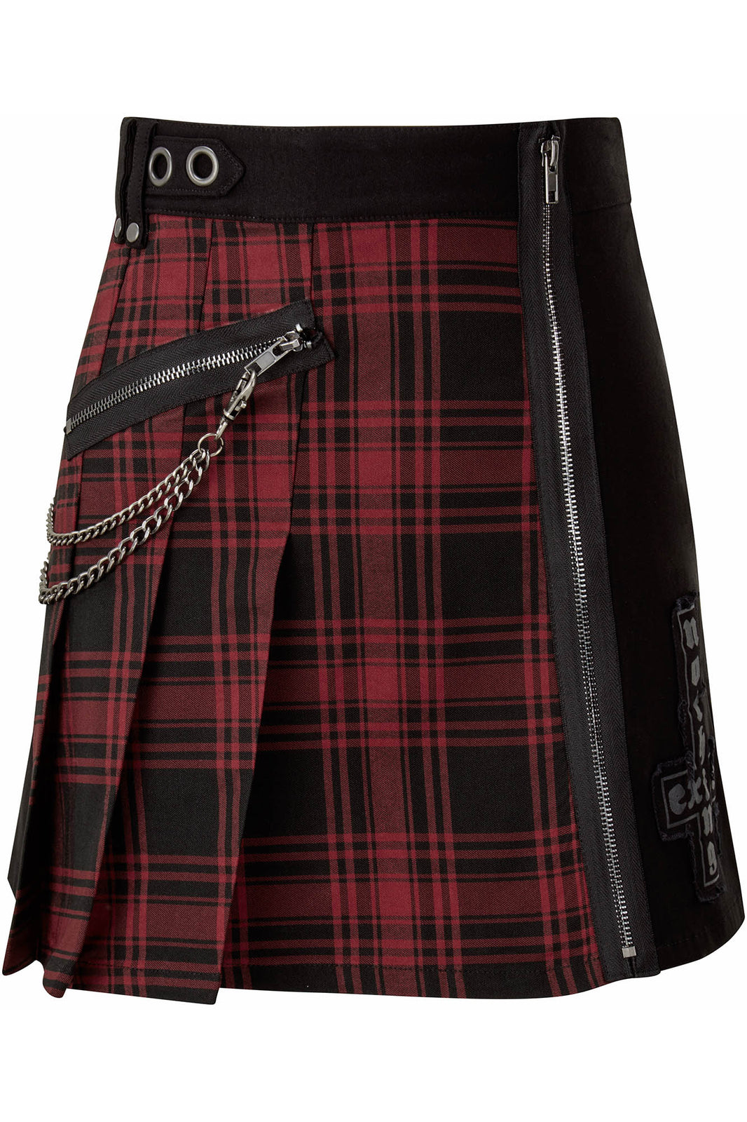 Calling Alice Mini Skirt [TARTAN]