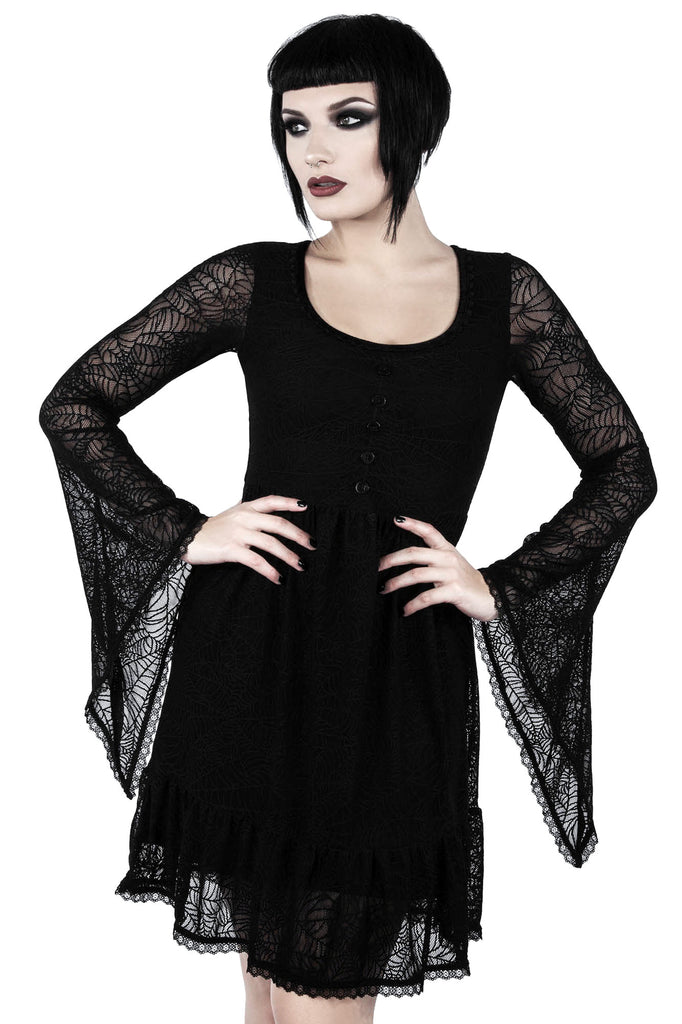 Casket Cutie Web Dress [B]