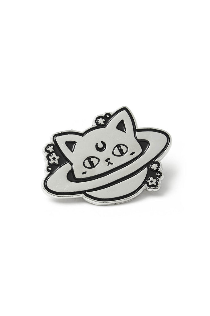 Cat Planet Enamel Pin [B]