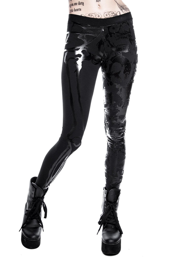 KILLSTAR Chaos Matrix Leggings Occult Clothing
