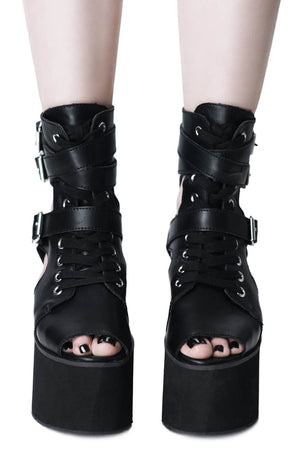 Charmed Cutout Boots