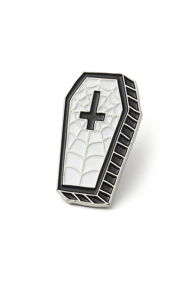 Coffin Enamel Pin [B]