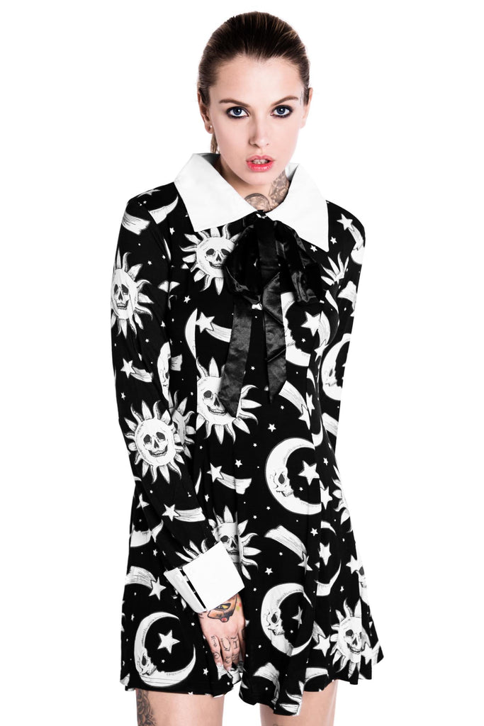 Cozmic Death Ribbon Dress [B]