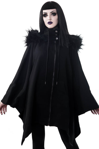 Crypt Keeper Faux Fur Poncho