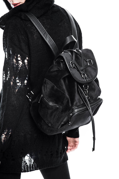 Damsel Velvet Backpack [B]