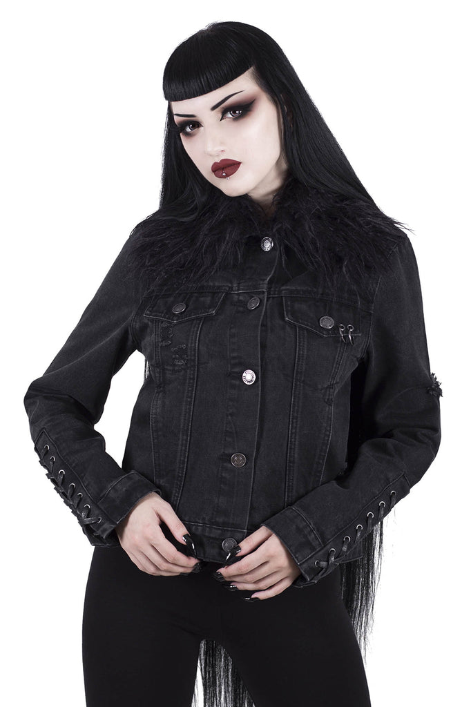Dark Daze Denim Jacket [B]