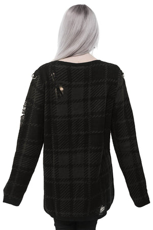 Darklands Knit Sweater [TARTAN]